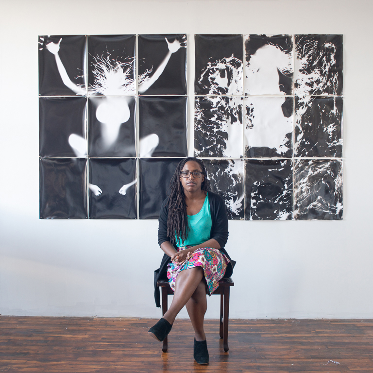 Photo by h. Eugene Foster for the series,   I Am Black:Translations