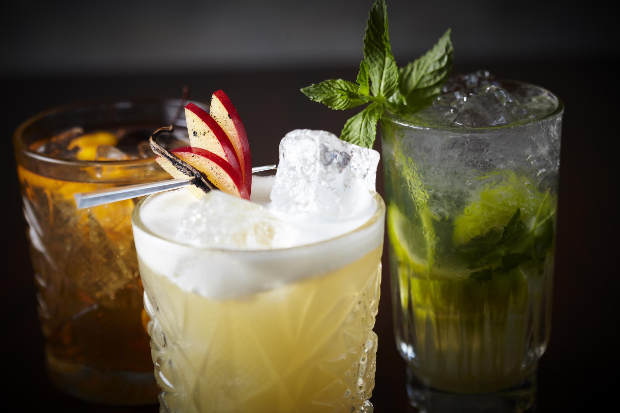 Sushi Samurai mixed drinks photo