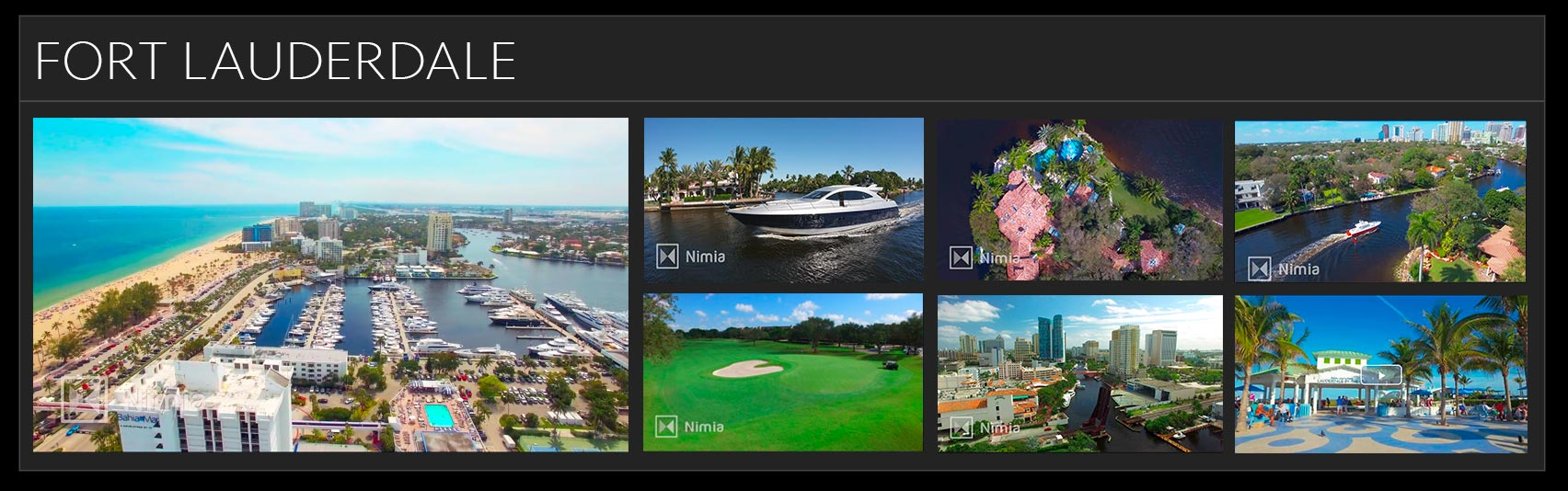 yacht video production fort lauderdale