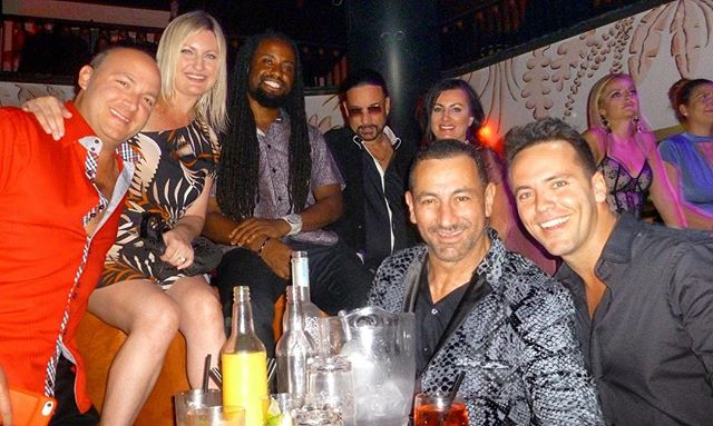 Been a while since we've been out past midnight. Fun times! #miami #nightlife #eltucanmiami #brickell #vip #friends