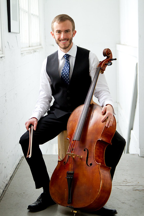 Patrick Smith,B. Mus, M.A.  Cellist Patrick Smith is a dynamic musician at home in both Western classical and intercultural music. Smith holds a Bachelor of Music in Cello Performance from the DePaul University School of Music in Chicago, Illinois.While attaining his Master of Arts from the University of Alberta, he expanded his repertoire to include African art music and Middle Eastern music.A native of Idaho, Smith began playing cello at the age of 10. His musical education began in a successful public school music program and continued during private study with Samuel Smith. Smith went on to study with Stephen Balderston at DePaul University. He served as Principal Cellist of the DePaul Symphony Orchestra from 2008 to 2009 and performed with this and other orchestras during his time in Chicago.