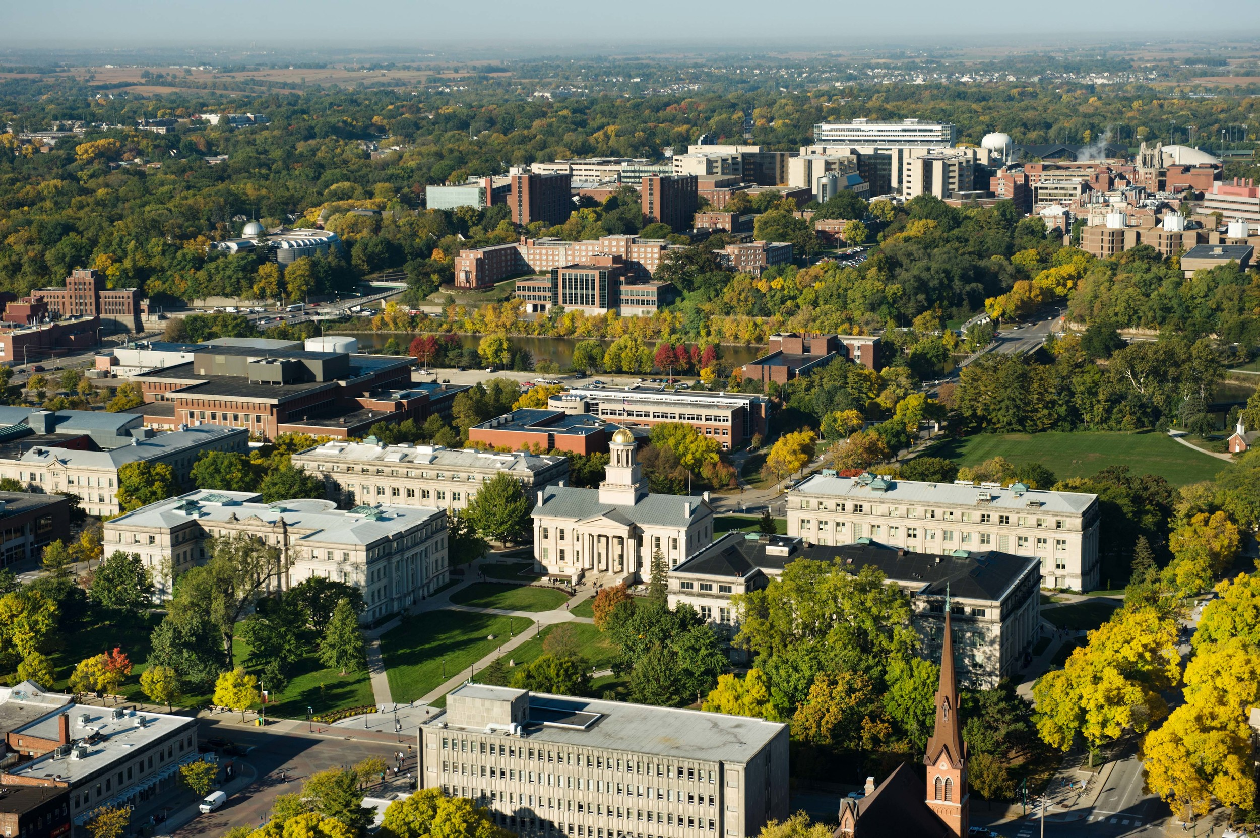 The 2005, 2007 and 2009 editions were hosted by the University of Iowa in Iowa City, USA.   Image by  Chris Howe