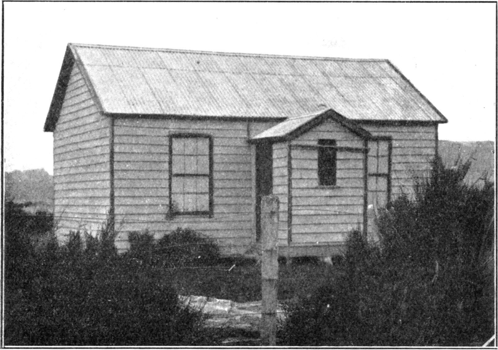 The School House - circa 1870