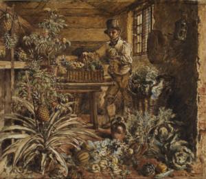 the head gardener, william henry hunt, the courtauld.