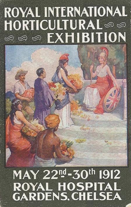 London Underground Poster, 1912.