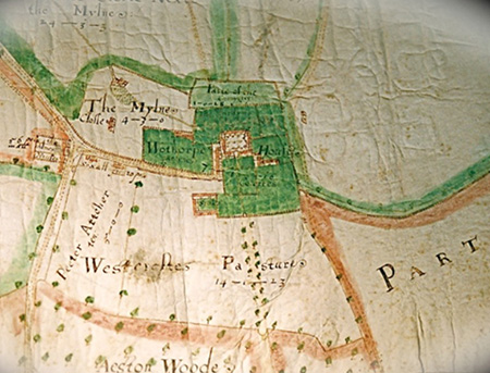 Plan, John Thorpe jnr, 1615
