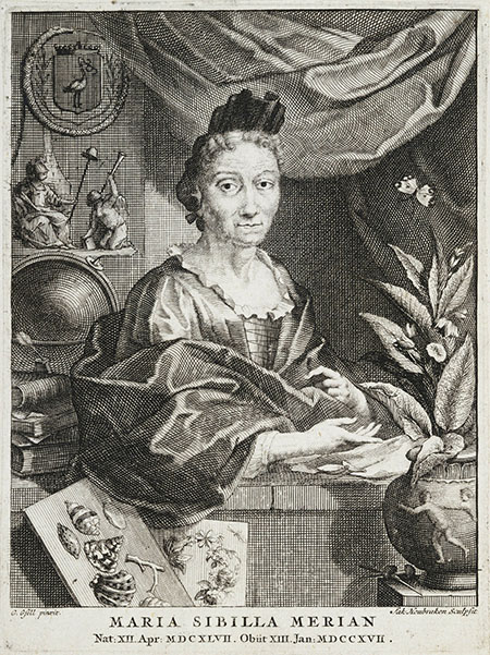 Engraving after portrait by G Gsell, RCT.