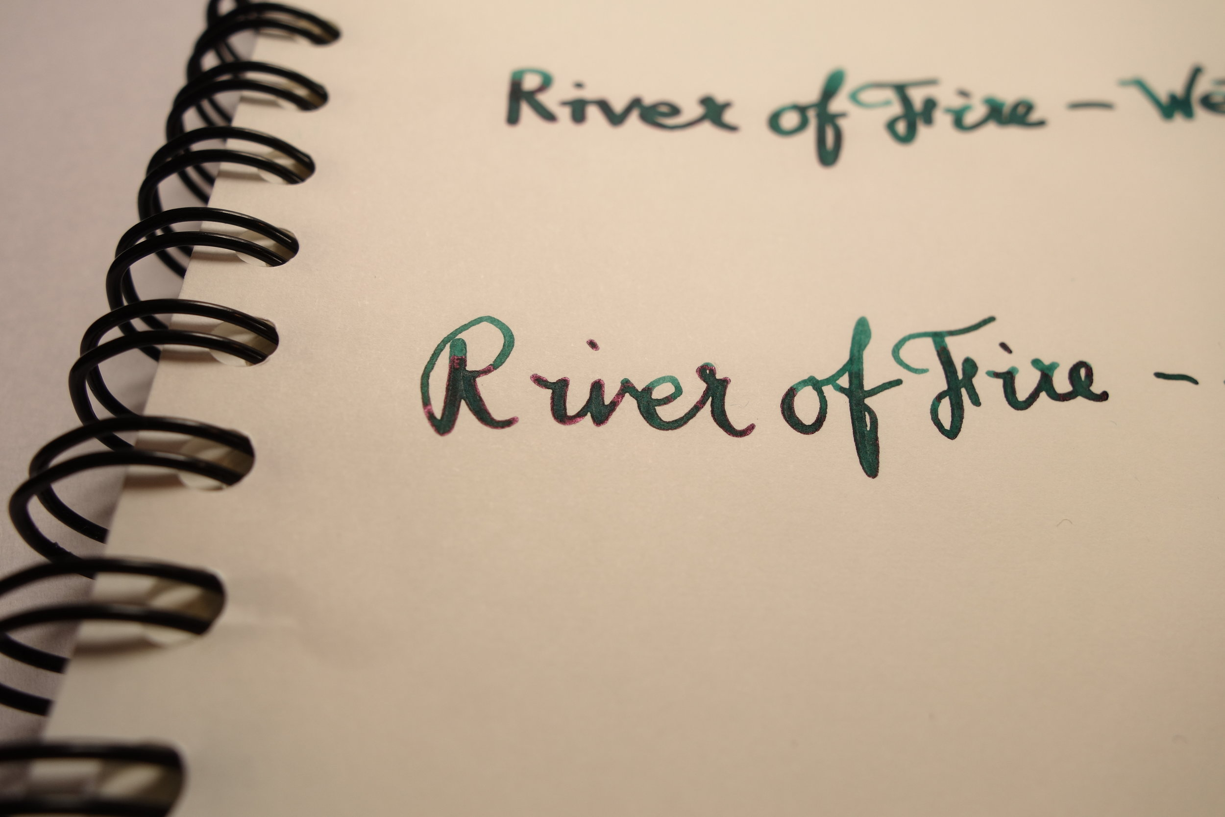 River of Fire Moderately Wet Pen