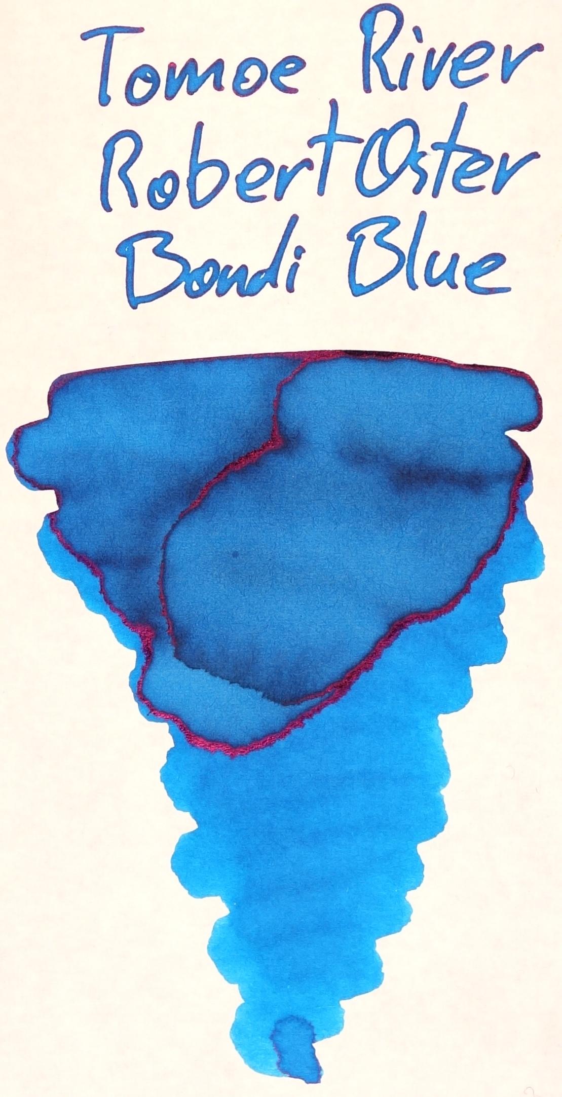 Robert Oster Bondi Blue Tomoe River.JPG