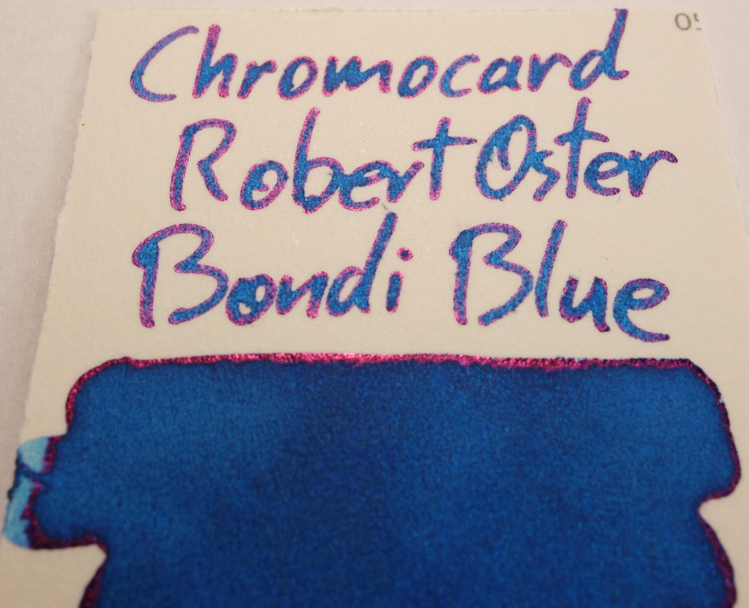 Robert Oster Bondi Blue Sheen Chromocard.JPG
