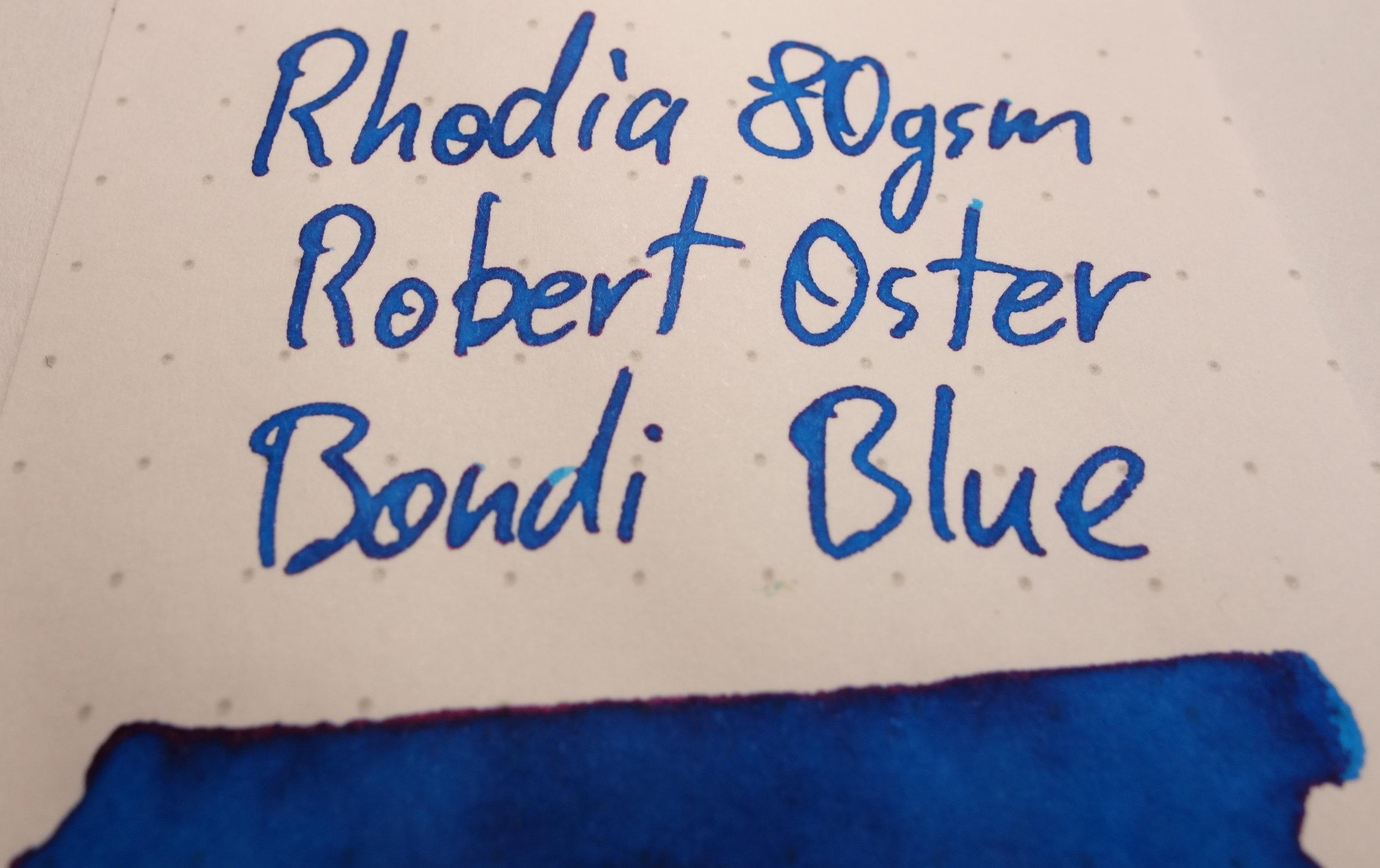 Robert Oster Bondi Blue Sheen Rhodia.JPG