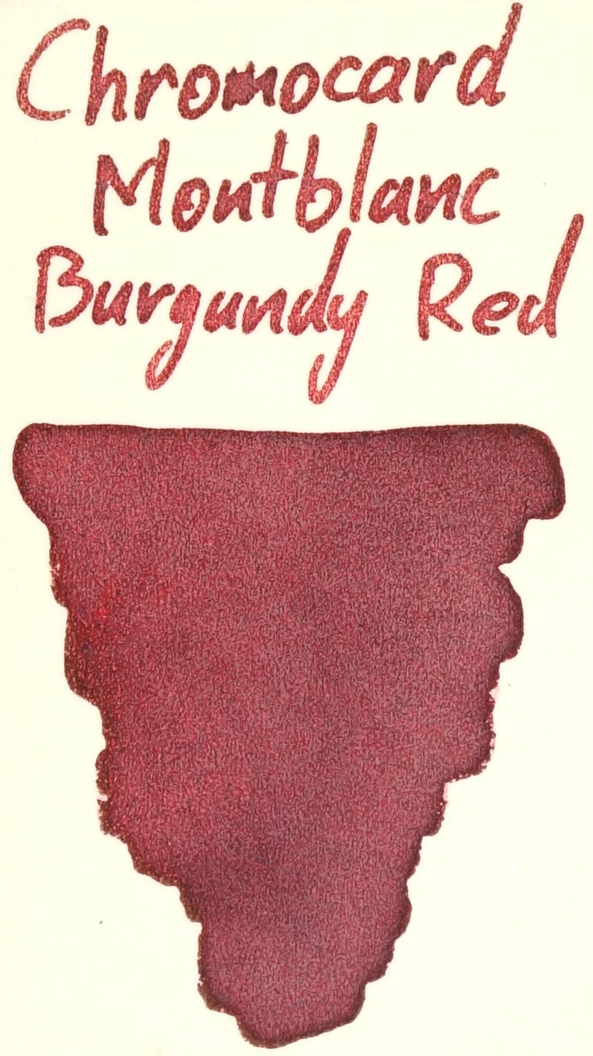 Montblanc Burgundy Red Chromocard.JPG