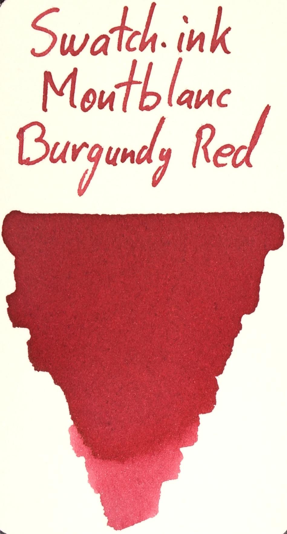 Montblanc Burgundy Red Swatch.ink.JPG