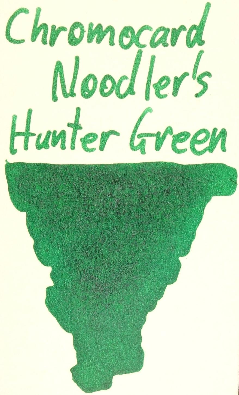 Noodler's Hunter Green Chromocard.JPG