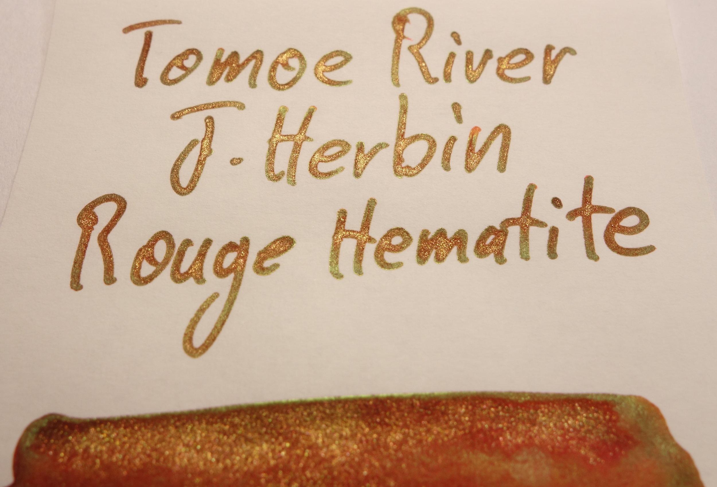 J. Herbin Rouge Hematite Sheen Tomoe River.JPG