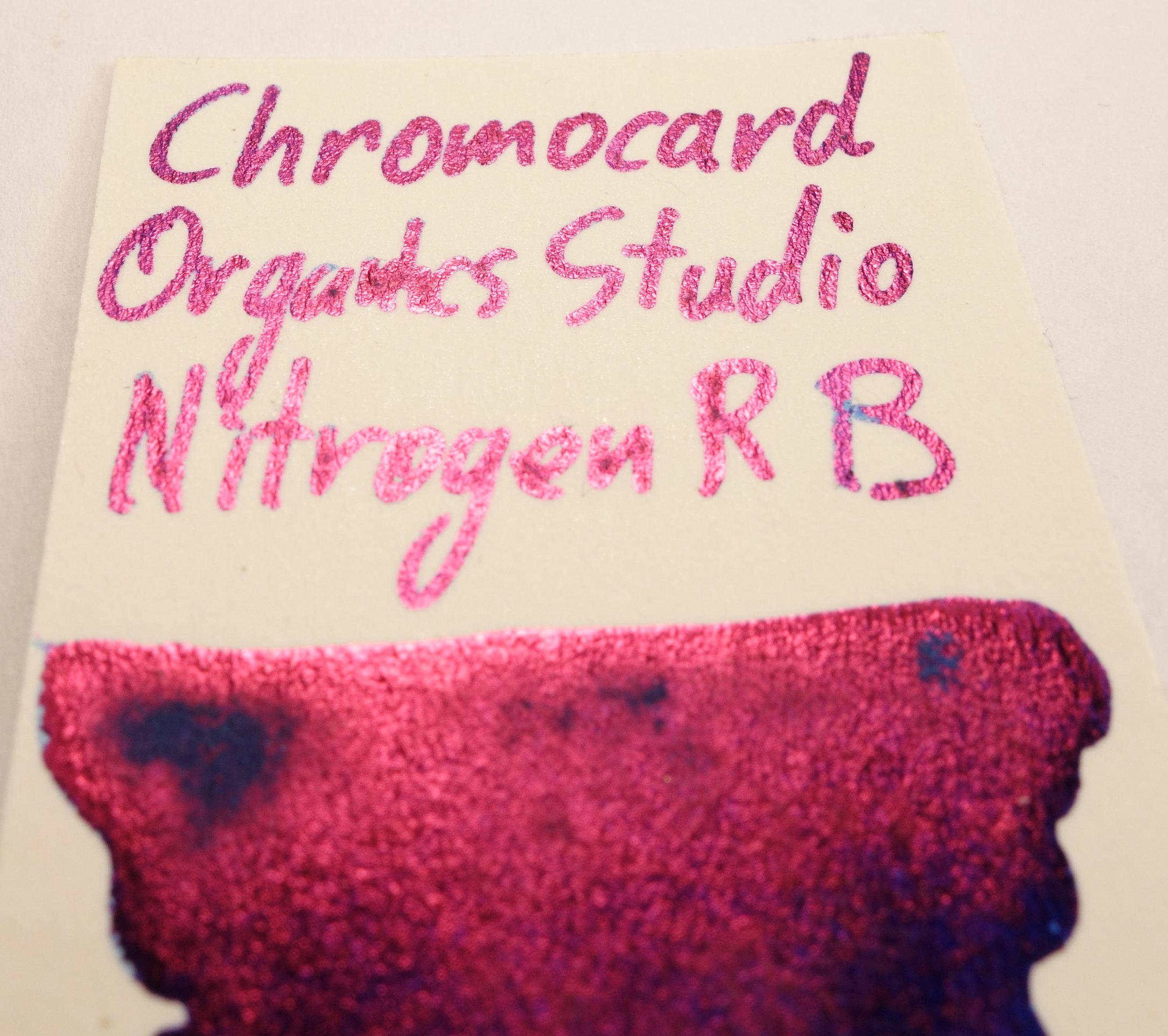 Organics Studio Nitrogen Royal Blue Sheen Chromocard.JPG
