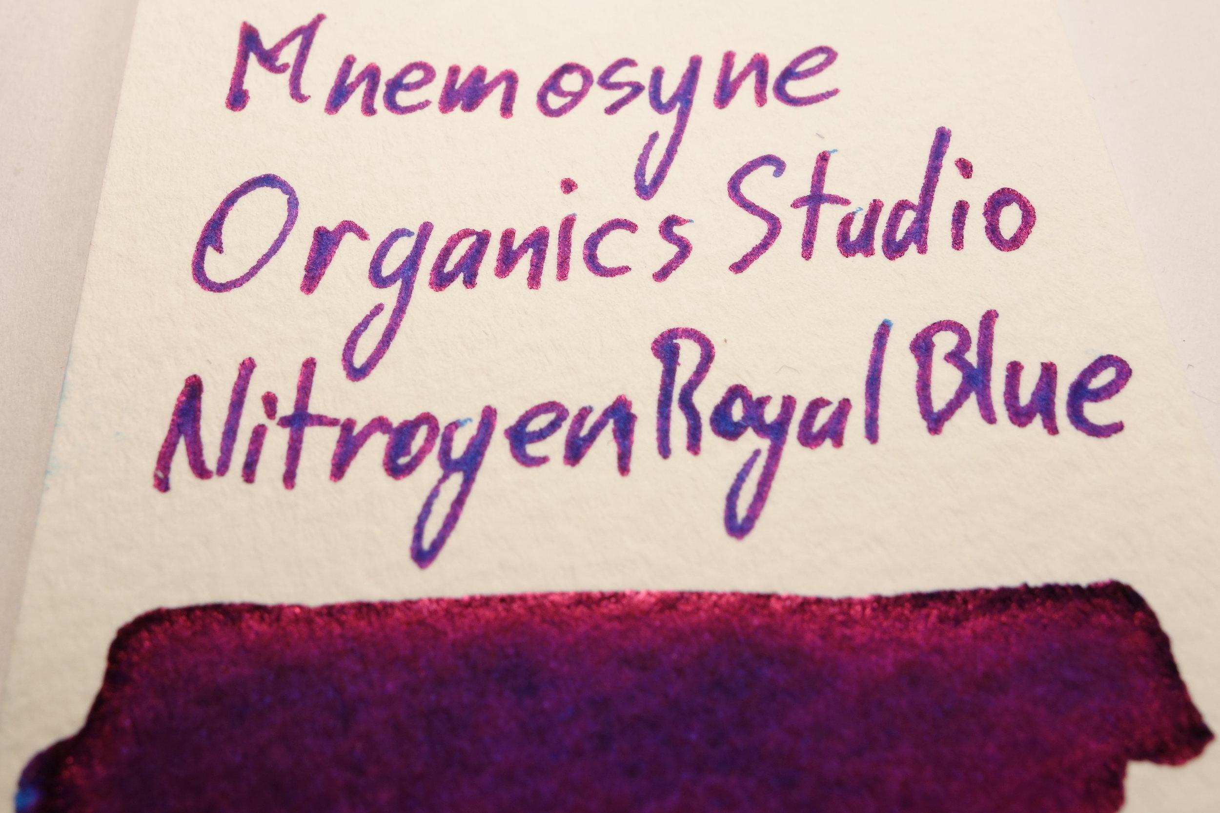 Organics Studio Nitrogen Royal Blue Sheen Mnemosyne.JPG