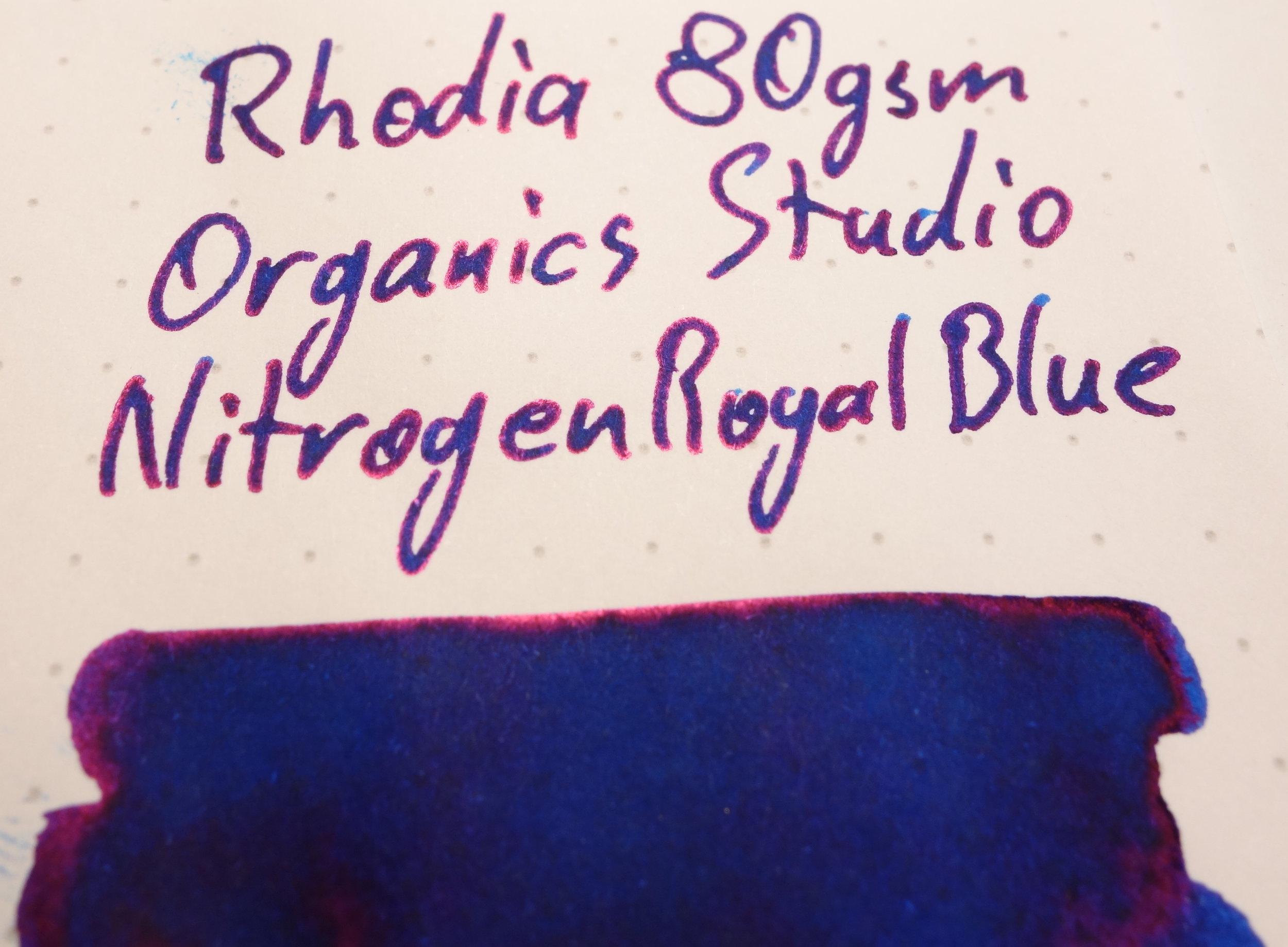 Organics Studio Nitrogen Royal Blue Sheen Rhodia.JPG