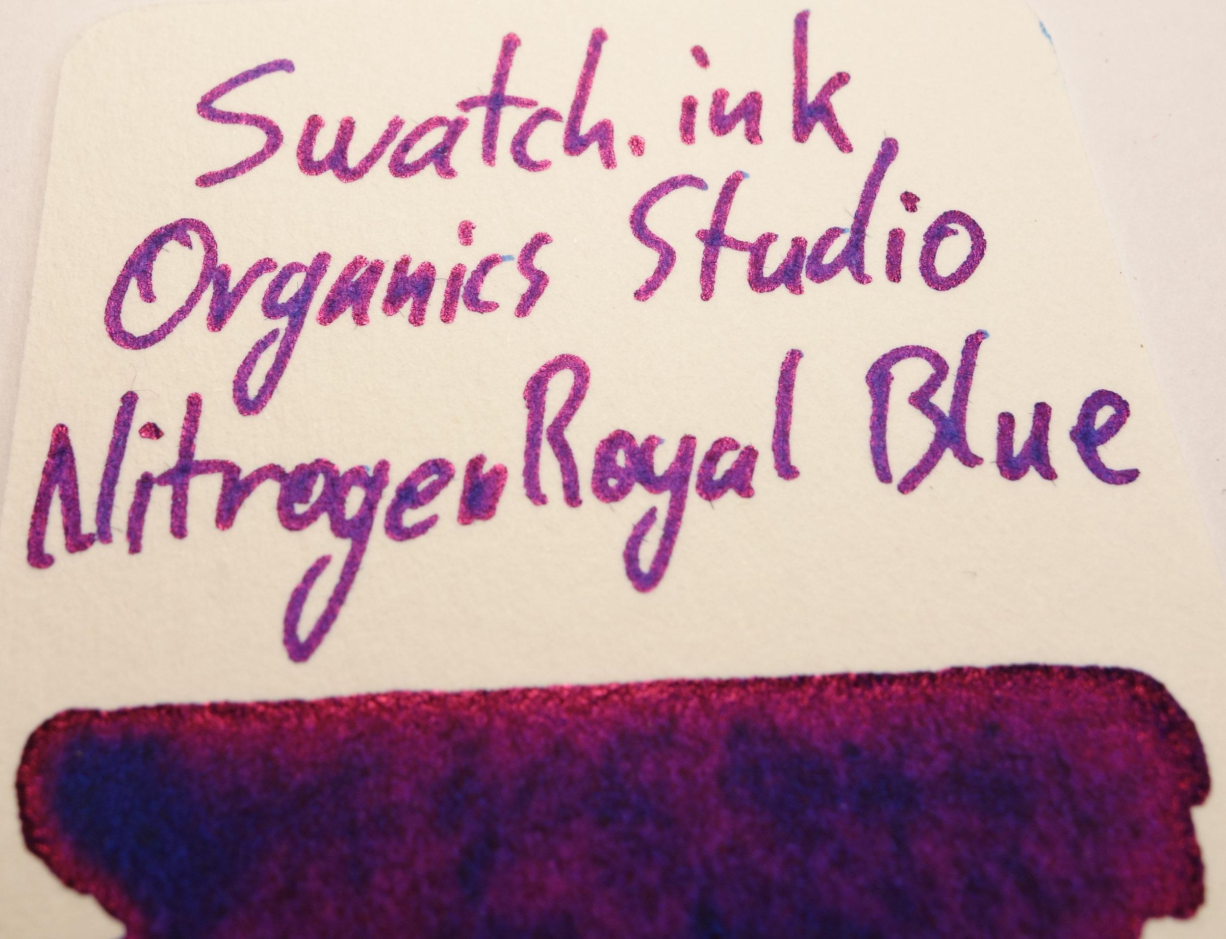 Organics Studio Nitrogen Royal Blue Sheen Swatch.ink.JPG