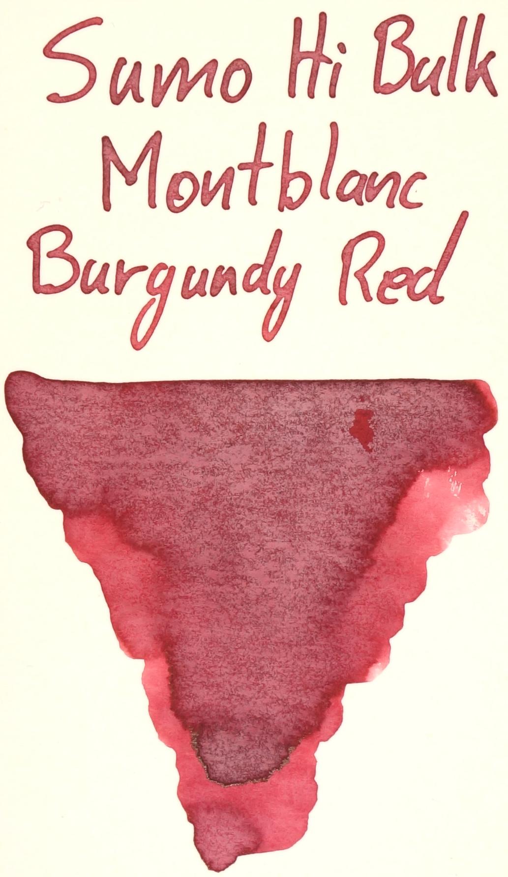Sumo Hi Bulk Burgundy Red