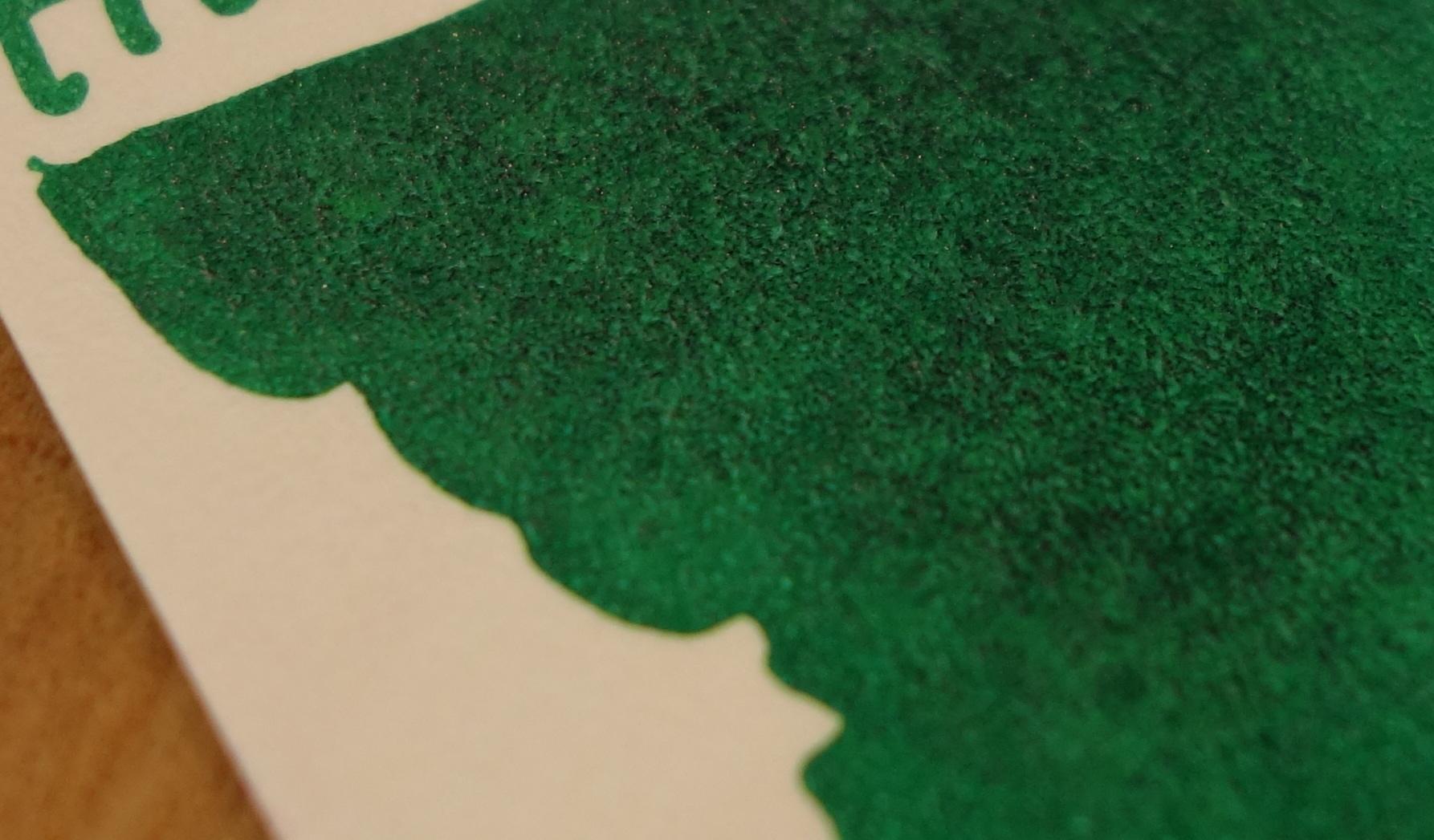 Splotchy Hunter Green