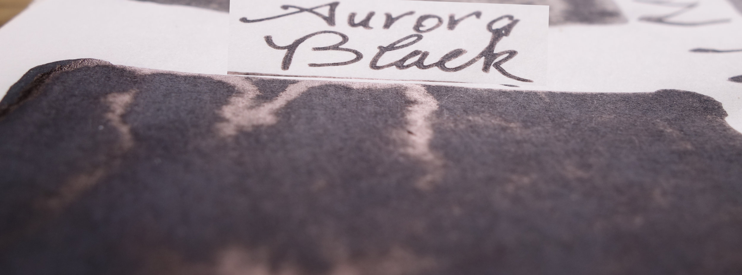 Aurora Black (Tomoe River)