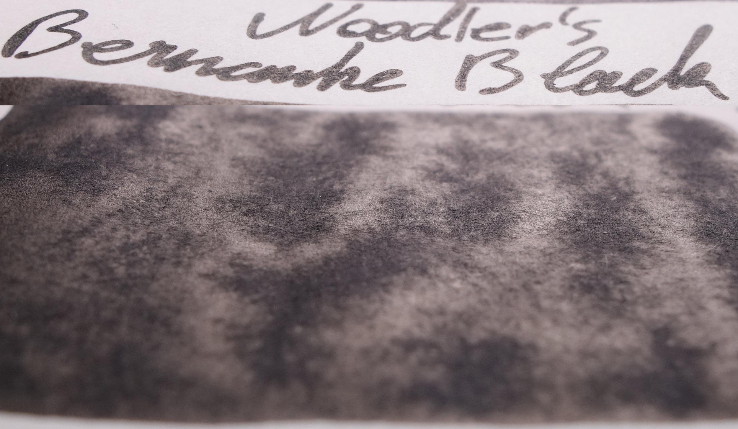 Noodler's Bernanke Black (Tomoe River)