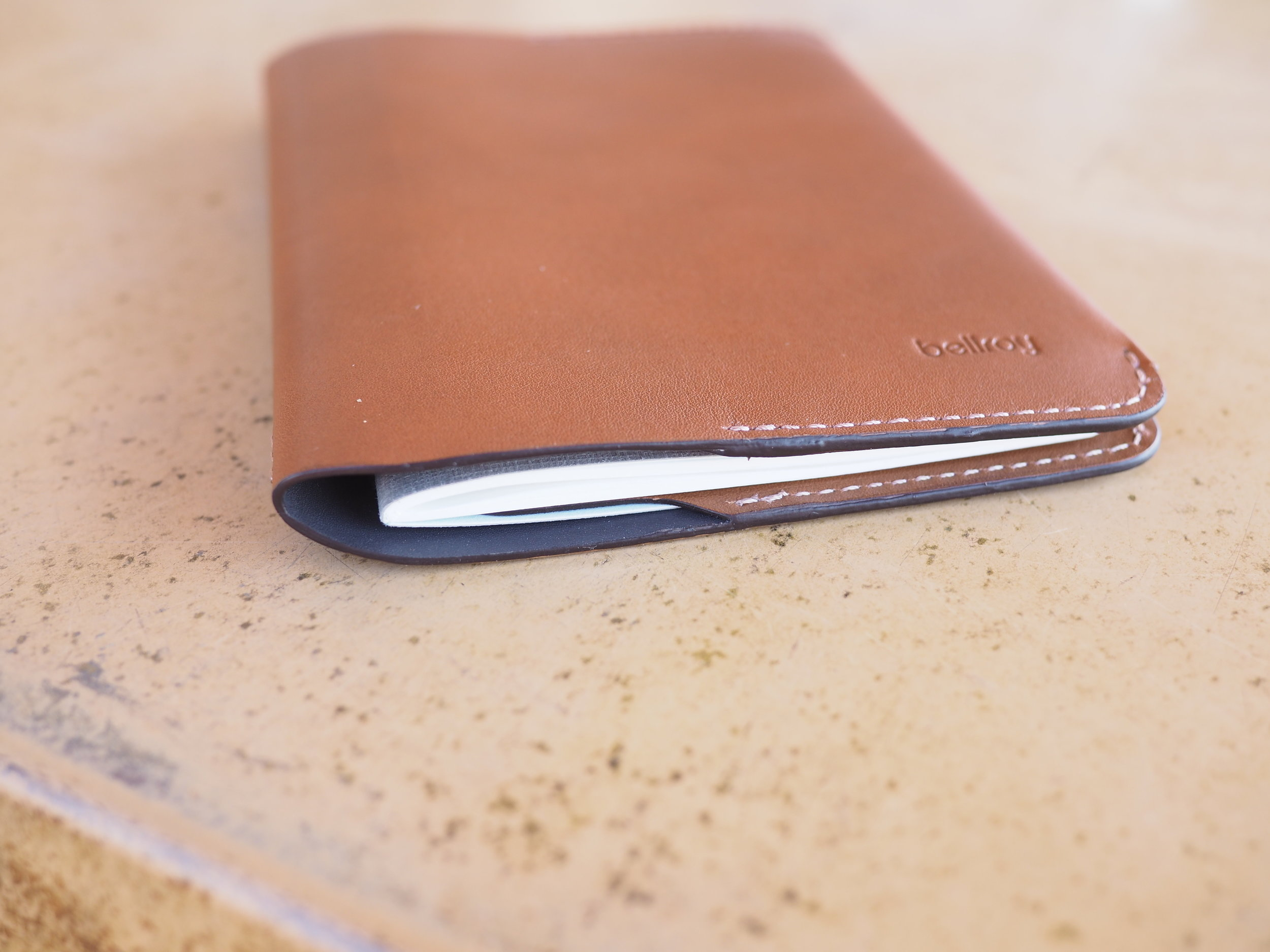 Notebook in Belroy cover