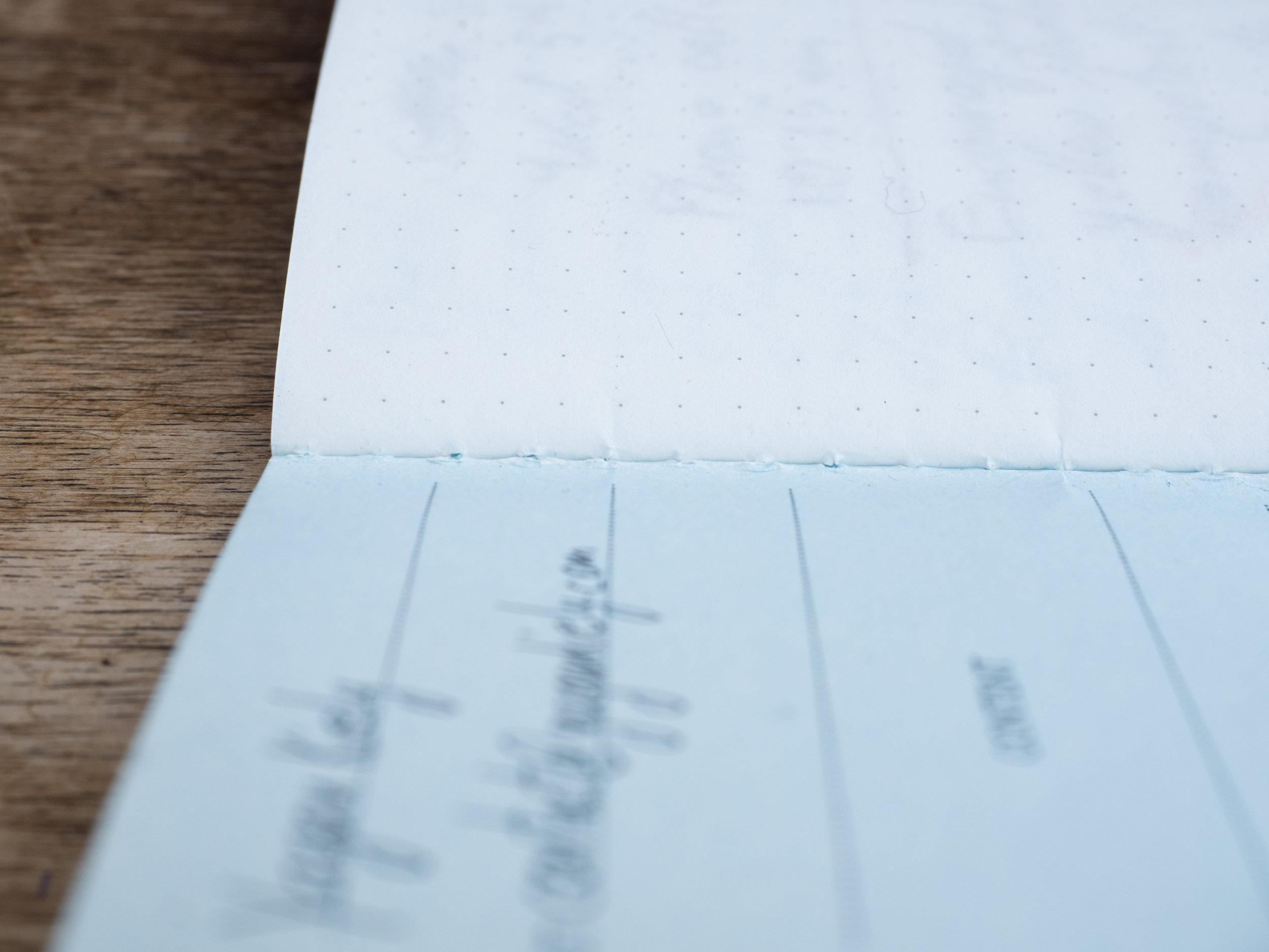 Pocket Notebook Inner Binding