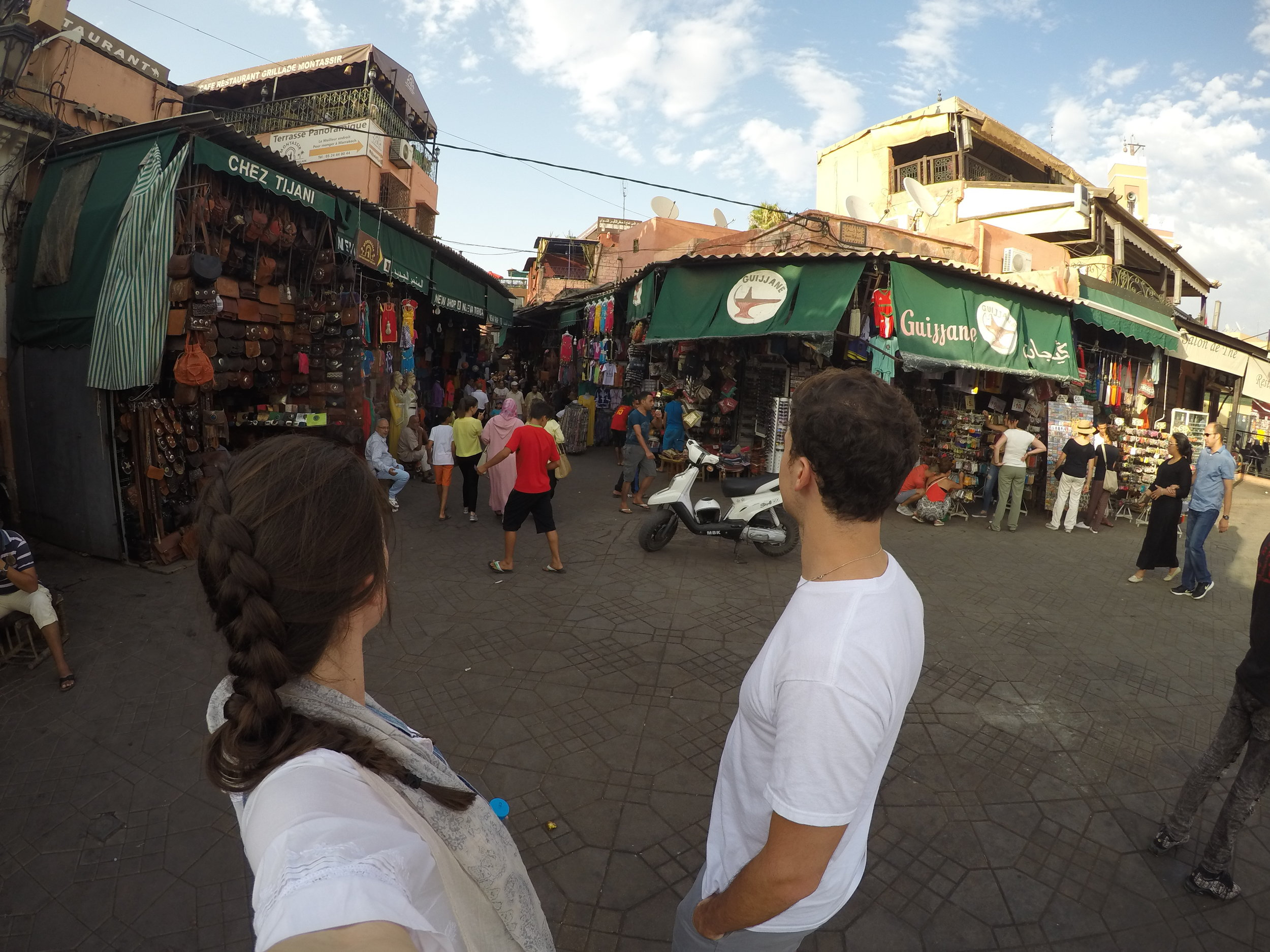 Wandering around the souk