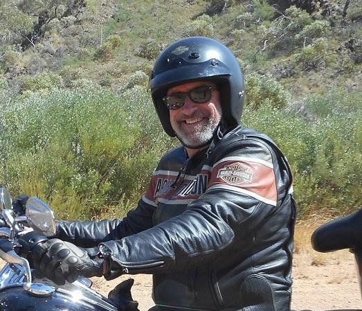 Steve Chapman ,   Road Captain