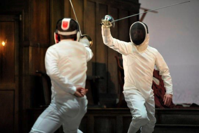 Hamlet fencing 2
