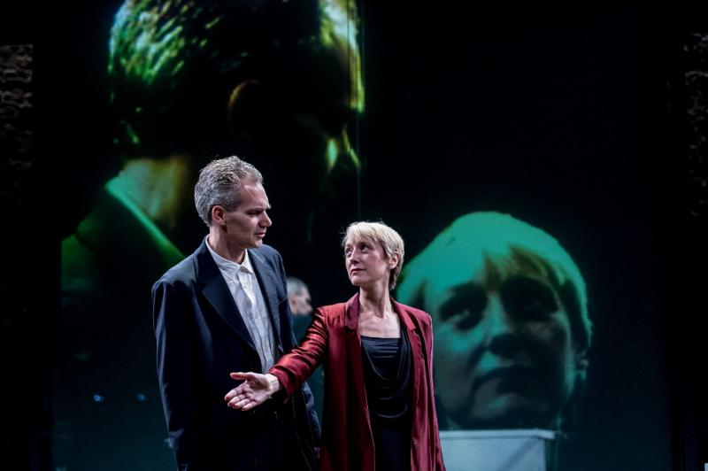 Oresteia.  Photo by Manuel Harlan
