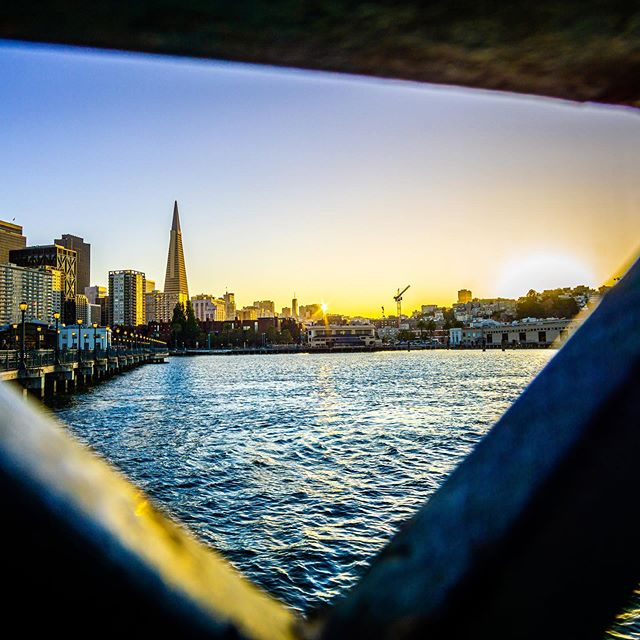 1 week into San Francisco and getting a few shots in. This one is along the Embarcadero on the east side of the city, beautiful view of the sun setting across the water 🌅 🌊 • • • #sanfrancisco #bay #embarcadero #sanfranciscoworld #sunset #pier #waterside #cityscape #skyscape #city #summersunsets #sonya6000 @sanfrancisco_now @sanfrancisco_photos @sanfranciscoworld @sanfrancisco