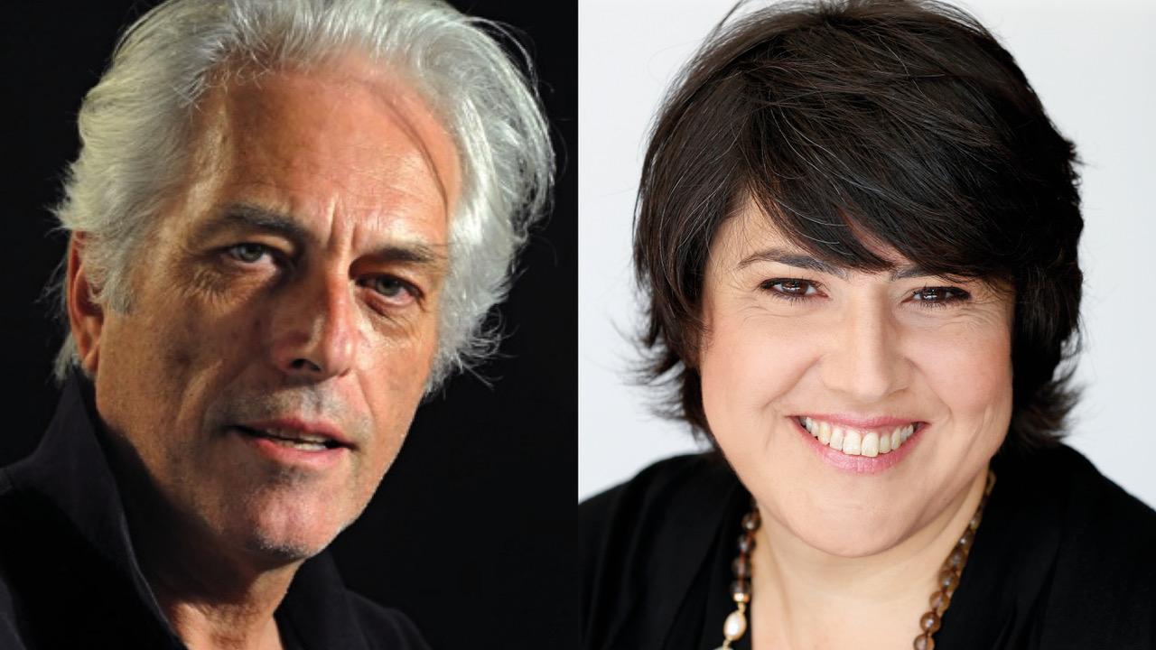 Christian Campiche e Francesca Giorzi