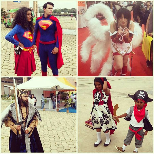 The best part of Comic Con is being able to dress up as your favorite super heroes and characters.