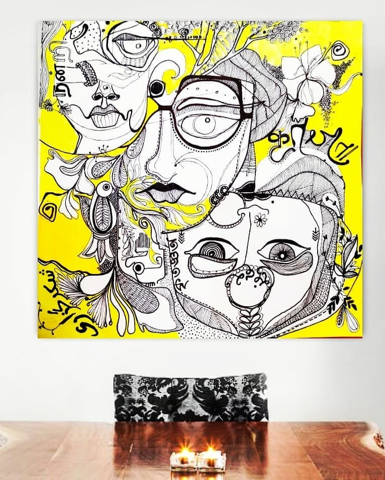 Artists of India - Sayli