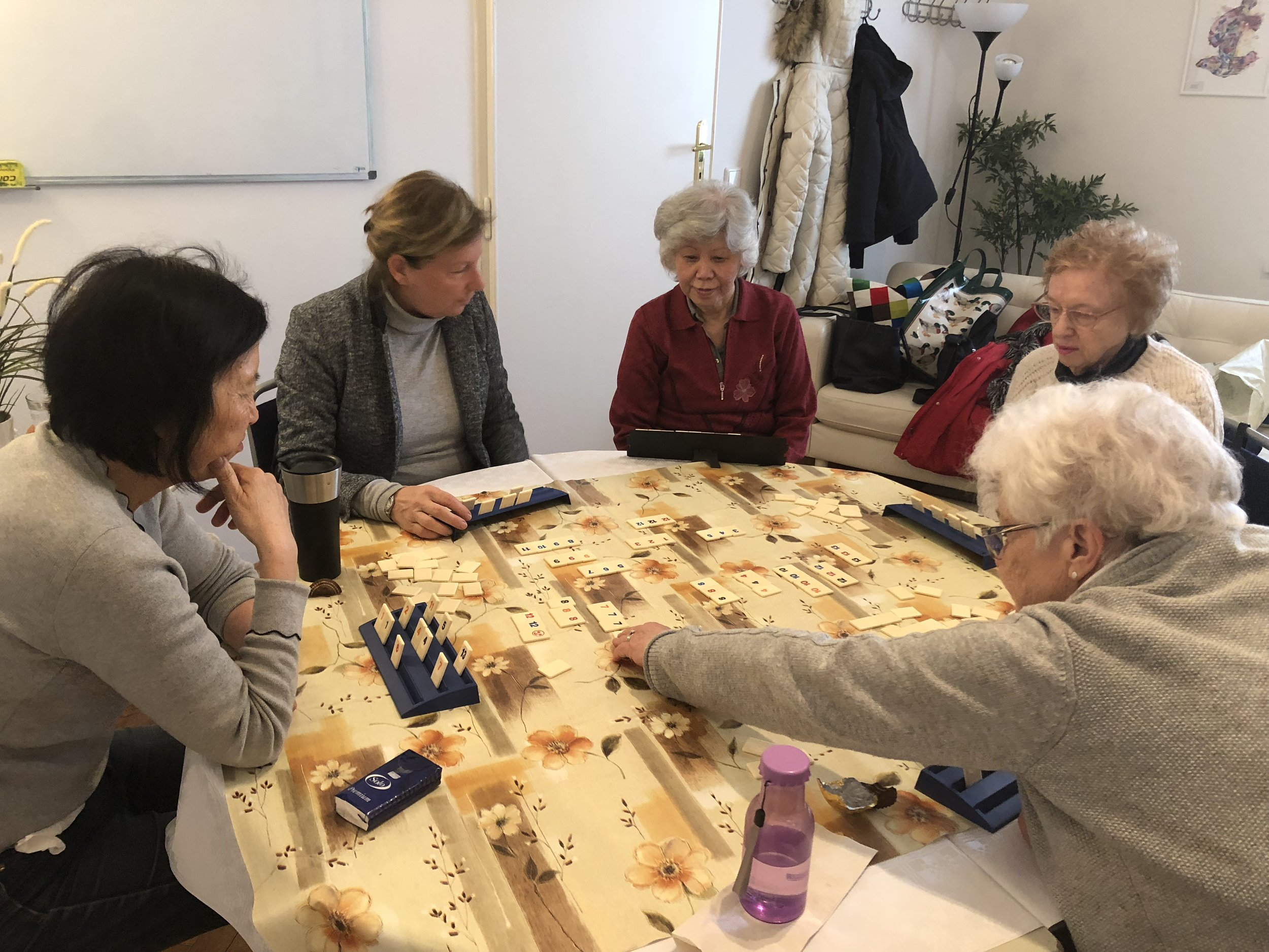 - GAMES GALOREThursday (weekly) at 10:00 AWA ClubhouseThe Scrabble Group has extended its repertoire to include Rummikub - a numbers game, Banana - a fast paced numbers game and Boggle. Come and try your luck.