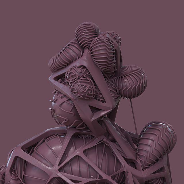 #digitalart #installation #design #artistsoninstagram #motiondesign #styleframe #conceptart #sculpture #streetart #exibithion #3d #drawing
