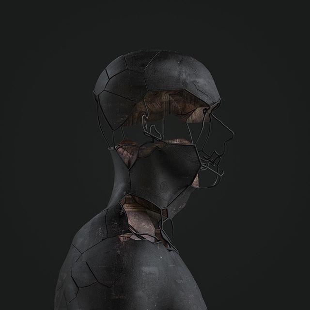#digitalart #sculpture #conceptart #installationart #designinspiration #artistsoninstagram #lighting #blackwood #wood #artwork #octanerender #xparticles #c4d #3d #motiondesign #mograph #redshiftrender #coronarenderer