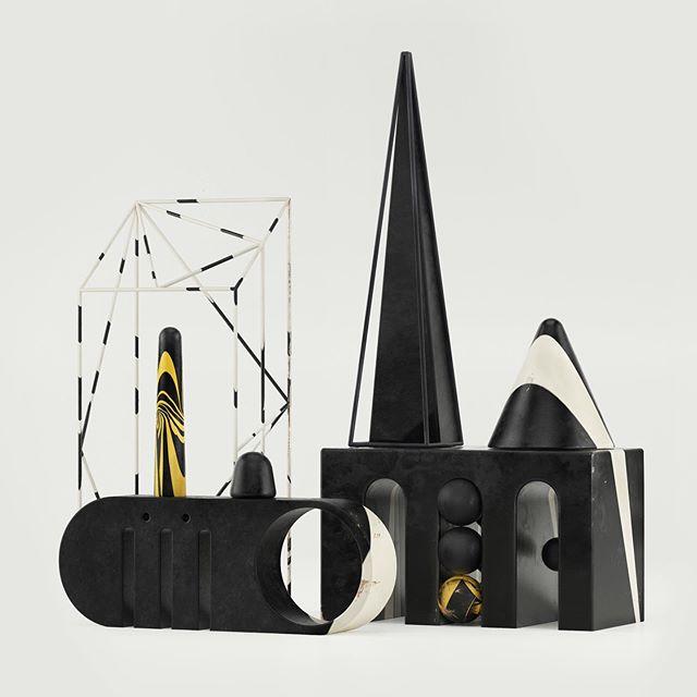DAZZLE.  #pattern #setdesign #3d #installationart #wood #c4d #render #minimalism #lighting #memphis #dazzle #lineart
