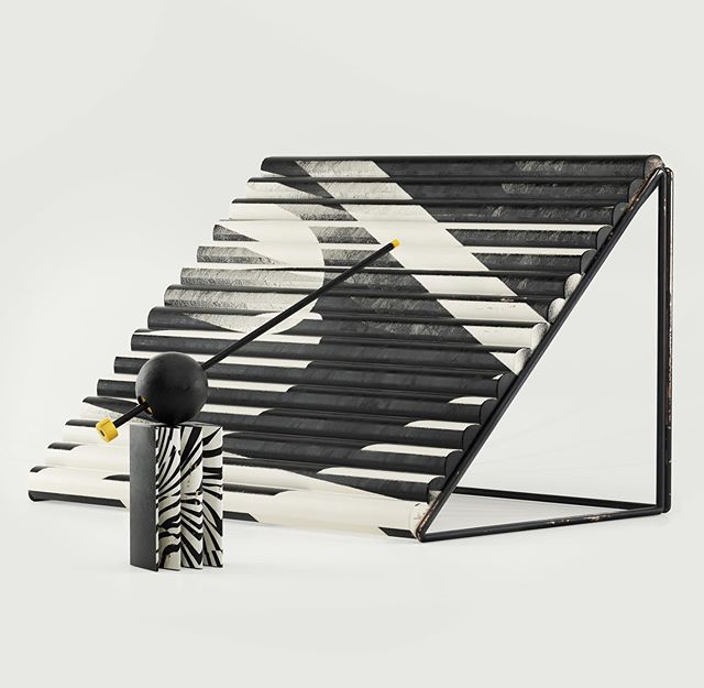 DAZZLE. #memphismilano #setdesign #installationart #pattern #3d #c4d #octanerender