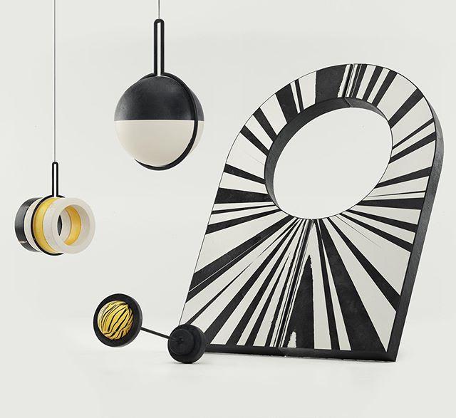 #memphismilano #setdesign #installationart #pattern #3d #c4d #octanerender