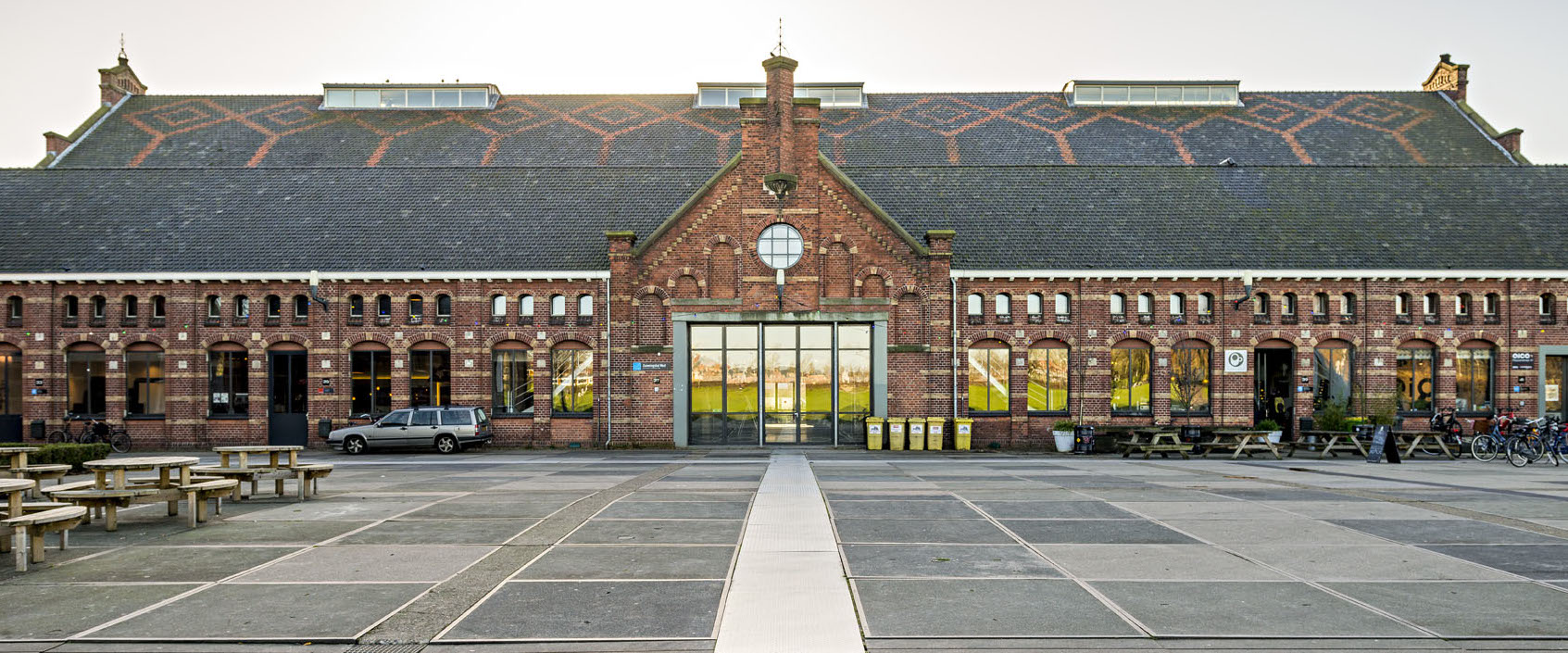 Zuiveringshal West, Westergasfabriek