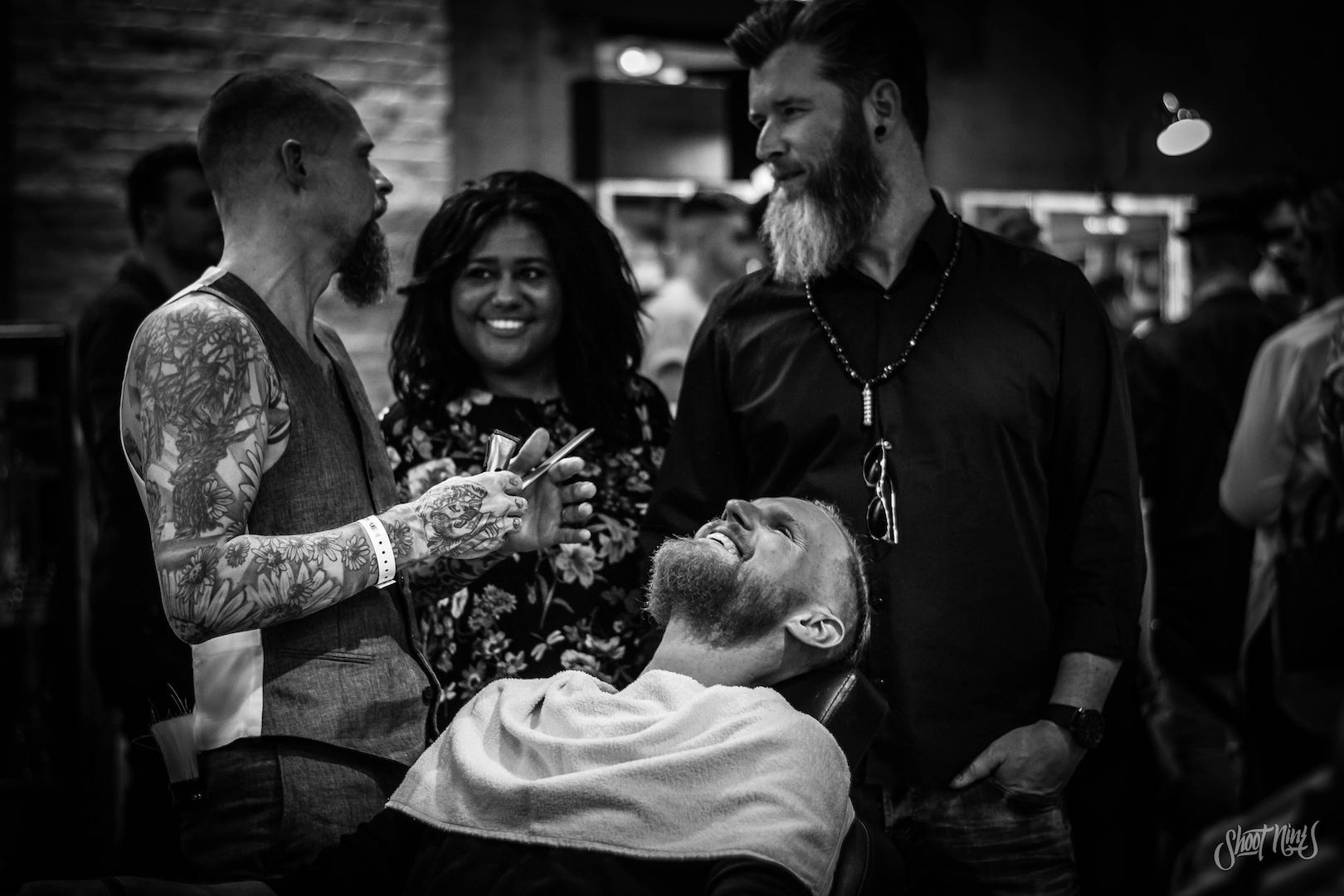Zie barber talenten van dichtbij aan het werk en vraag naar hun tips & tricks. -