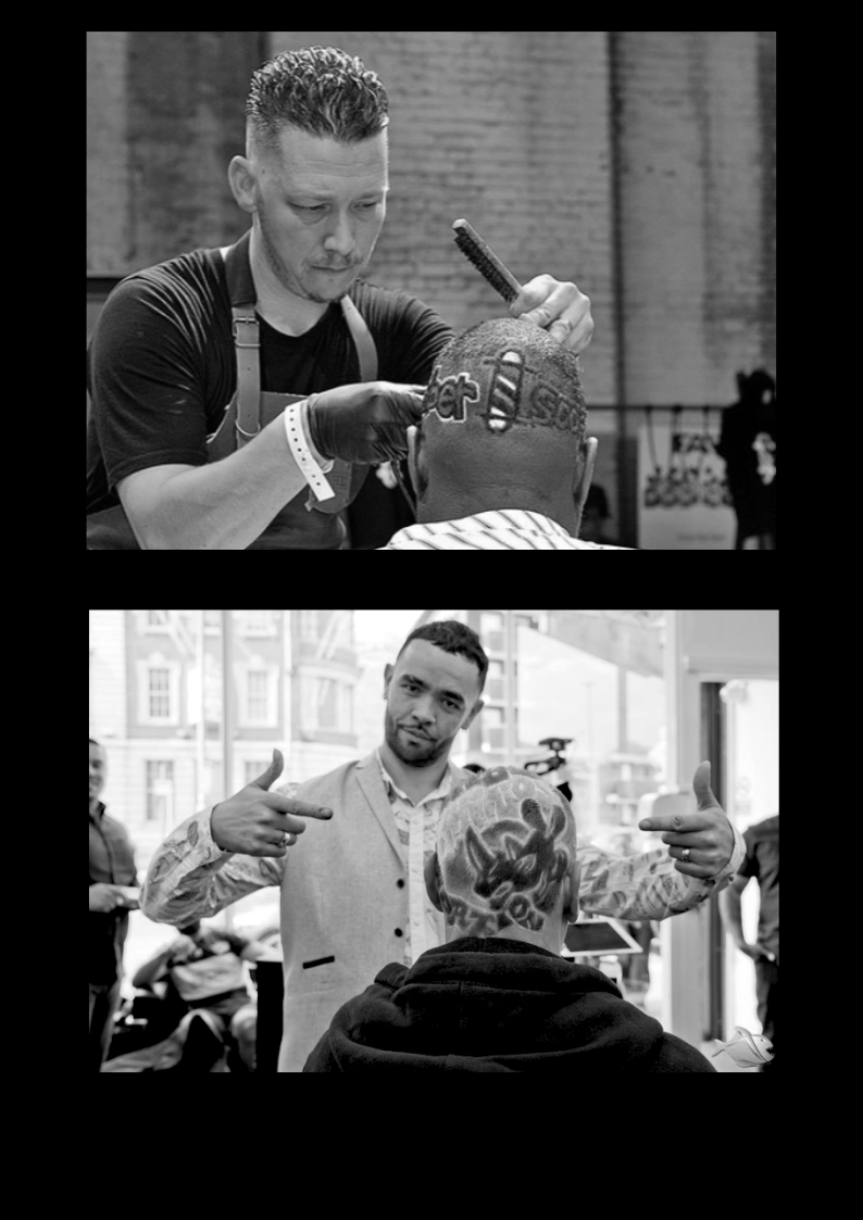 Barber Piranha Hair (UK) & Ramses Re-Touch Versluis (NL) presenting:  'Blades, fades, hair tattoos & braids'  A unique look & learn 'blades, fades, hair tattoos & braids' from the experienced Barber B from Piranha Barber Academy (UK) & Dutch fade king Ramses Versluis (NL). A very special collaboration between these two fade masters! Watch their amazing work in a look and learn session of 2 hours.  The look & learn will be held on Monday afternoon. Pay attention: only 50 (!) seats are available,