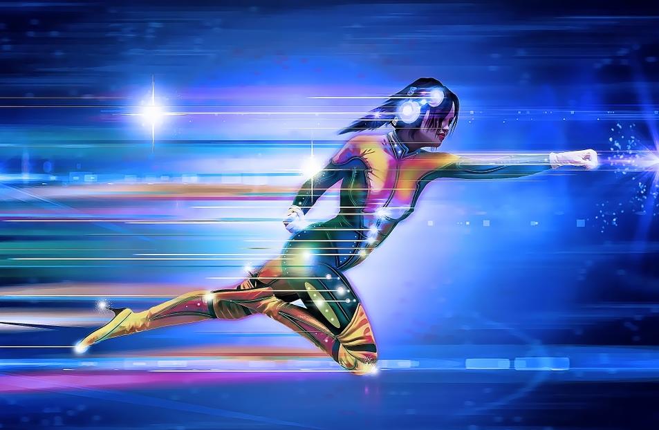 Source:https://pixabay.com/en/superhero-girl-speed-runner-534120/