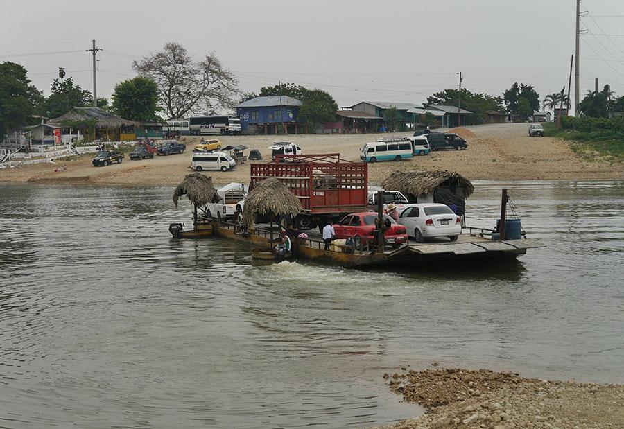 Ferry to Tikal