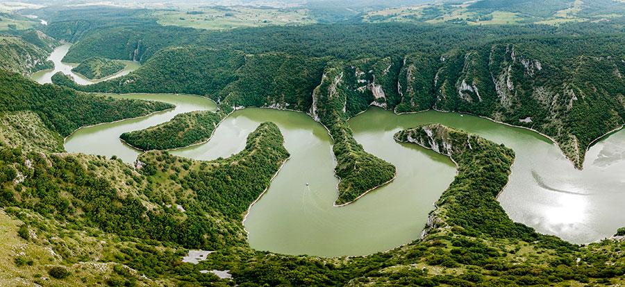 Uvac Gorge. Pic: Uros Stepisnik/Alamy