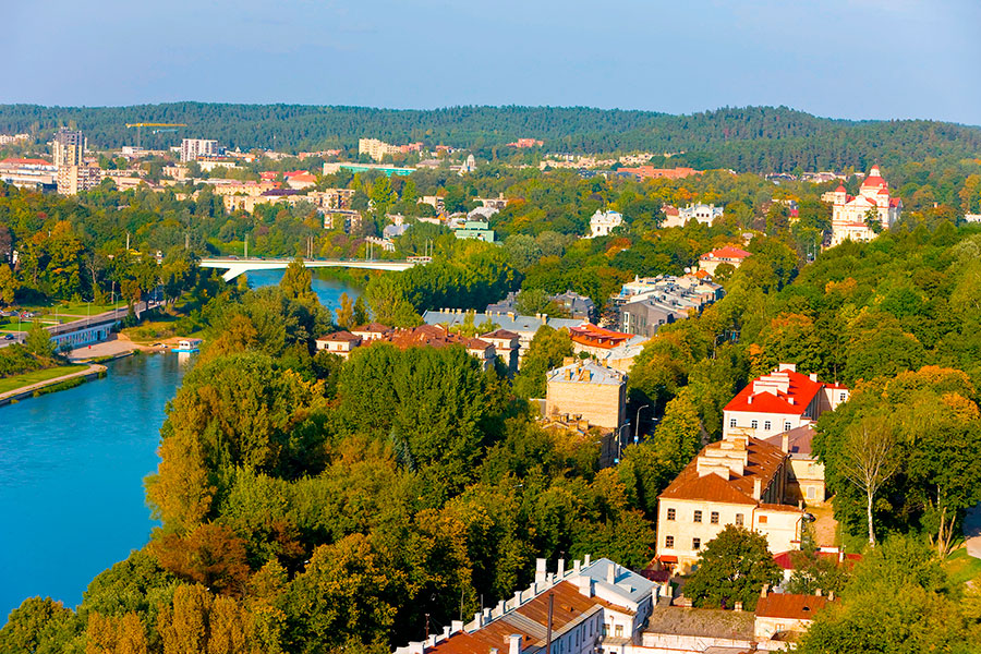 View over the Old Town Robert Harding/Alamy